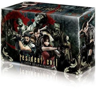 resident evil deck building card strategy game