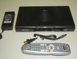 Comcast Cisco RNG200 DVR Cable Box Xfinity Remote