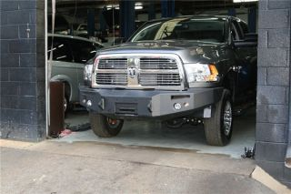 2010 2012 Dodge RAM 2500 5500 Fab Fours Front Winch Bumper with Fog