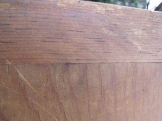 Large Rustic Primitive Antique Wood Bread Board Dough Board Cutting