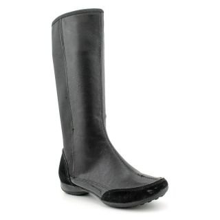 Giani Bernini Cadiz Womens Size 9 Black Leather Fashion Mid Calf Boots