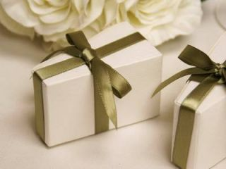 100 Pcs White Triangle Cake Wedding Favor Box Catering Party Packaging