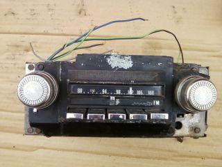 1972 72 cadillac sedan deville eldorado am fm delco radio stereo works