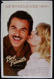 Best Friends Burt Reynolds Goldie Hawn Movie Poster