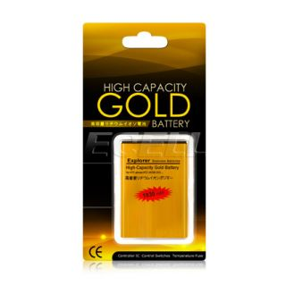 Gold 1930mAh Ba S540 High Capacity Battery for HTC Explorer Wildfire S