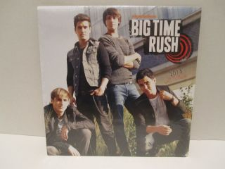 2013 Calendar Big Time Rush Nickelodeon 16 Month Assorted Pictures New