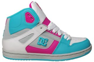 DC Shoes Womens Sneakers Rebound Hi Armor Pink 302164 Sz 7 M