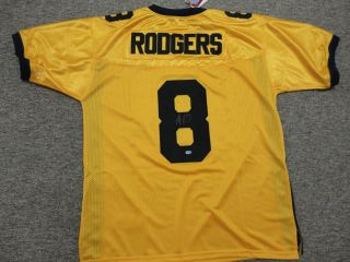 Autographed California Golden Bears Aaron Rodgers NCAA Jersey Signed