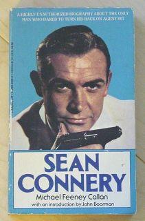 Callan SEAN CONNERY 1985 Biography JAMES BOND 007 Illustrated Stein