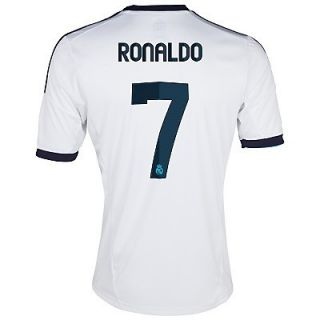 Adidas C Ronaldo Real Madrid Youth Home Jersey 2012 13
