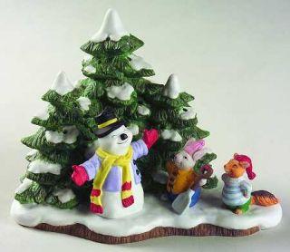 Fitz Floyd Holiday Hamlet Worlds Best Snow Man 65603