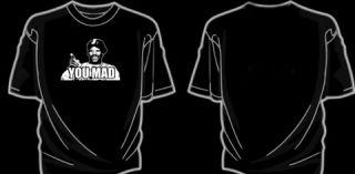 You Mad Shirt 4chan Meme CamRon Camron Rap Hip Hop Bro