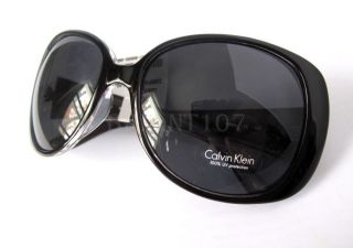 Calvin Klein Womens Sunglasses R572S Black Gray $72 Couple Tiny