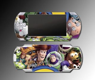 Toy Story 2 Buzz Woody Game Decal Skin 3 Sony PSP 1000