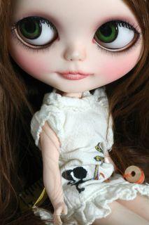 OOAK Custom Blythe doll Reroot Suri Alpaca Miss Hyper Hands No