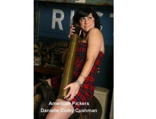 American Pickers Danielle Cushman Refrigerator Magnet