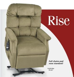Golden Cambridge PR 401 3 Position Electric Recliner Lift Chair w Full