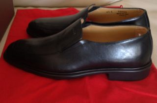 Plain Black Dress on Bally Caddo Plain Black Leather Dress Loafer Rubber Sole