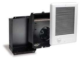 CADET CC101TW IN WALL HEATER CSC101TW THE COM PAK PLUS IN WHITE