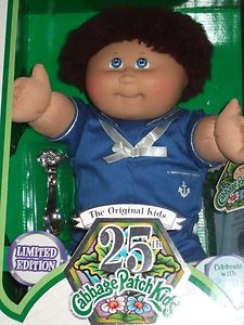 Cabbage Patch Kids 25th Anniversary Boy Doll Raoul 6 11