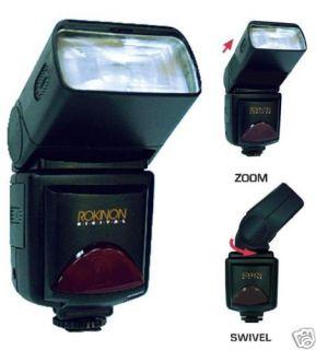 Rokinon D900AFZ Digital Camera Zoom Flash for Nikon D3200 D5100 D3100