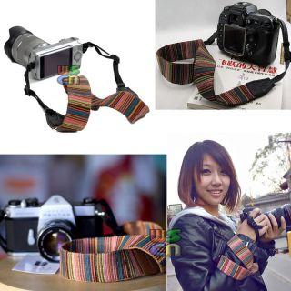 Neck Strap Shoulder Hand Belt for Canon DSLR SLR Camera