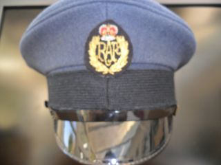 RAF Royal Air Force Queens Colour Sqadron Cap Hat QCS Q C S