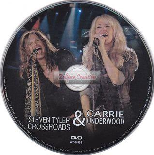 Steven Tyler & Carrie Underwood   DVD Brand New