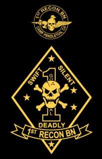 1st Recon Battalion Camp Pendleton Marine Corps Shirt