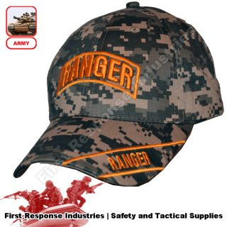 US Army Ranger Special Forces ACU Camo Hat Cap