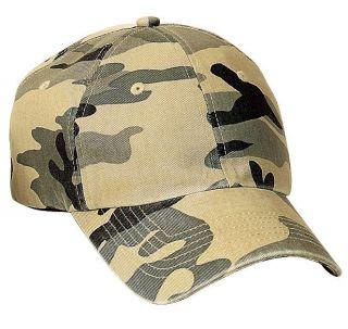 Port Authority Camouflage Cap Ball Cap Hat C851 New