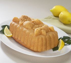 Nordic Ware 58348 Lemon Loaf Cake Bread Pan