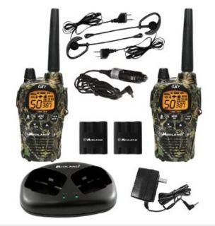 New Midland x Tra Talk Camo GMRS 36 Mile 50 Channel 2 Way Radio Pair
