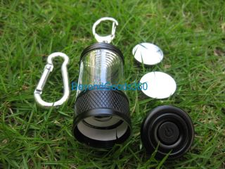 Portable 2XCR2032 3 Mode Mini LED Light Camping Lantern