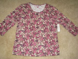 Cabin Creek Womans Clothing Shirt Top Size M NWT