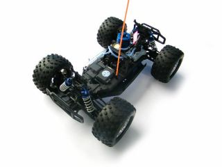 Caldera 3 0 1 10 RC Nitro Monster Truck 4WD 2 4GHz Blue
