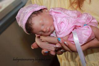 Babymine Nursery Caleb Heather Boneham Reborn Micro Preemie Baby Doll