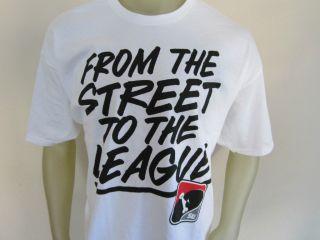 DC Shoes Co Street League Skateboarding Mens T Shirt White Size