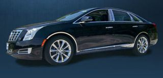 Cadillac XTS Stainless Rocker Panels Awesome Looks Quick Easy Install
