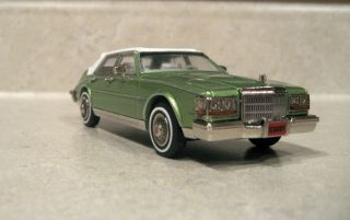 Minimarque Illustra 1981 Cadillac Seville Pepper Green