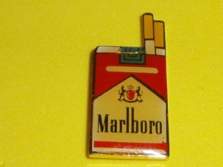 Pack Tobacco Vtg Enamel Metal Hat Pin Badge Smoke Smoker