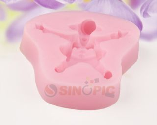 Flowers Soft Silicone Molds for Cake Sugarcraft Cupcake