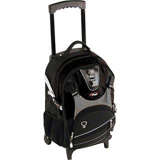 CalPak Champion Wheeled Laptop Backpack   Black