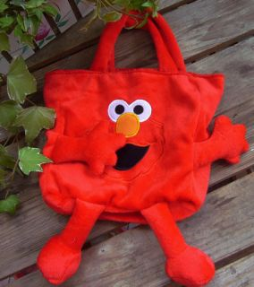 Street Elmo Preschool PLUSH Bag TOY Candy Bag Lovely Gift For Kids