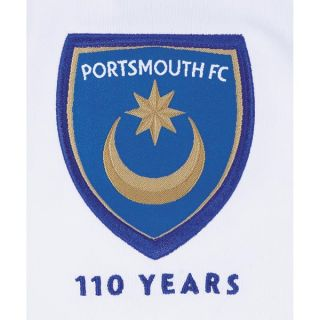 Canterbury England Premier Portsmouth FC Pompey Away Soccer Jersey NEW