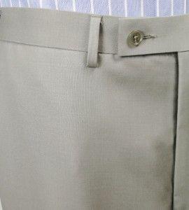 Calvin Klein Mens Slim Fit Suit Grey 46 Reg 40W Jacket Flat Front