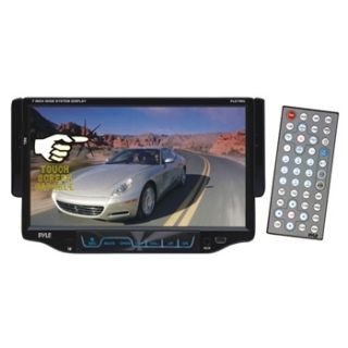 Touch Screen Stereo Car Radio CD DVD  Player USB SD