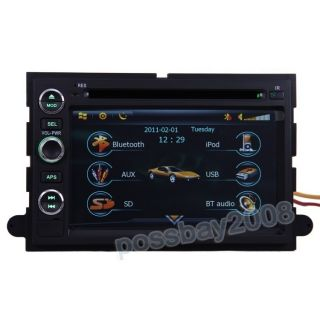 05 09 Ford Mustang Car GPS Navigation Bluetooth iPod Radio USB MP3 TV
