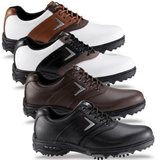 products callaway xtt lt saddle men s leather golf shoe