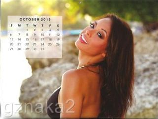 Gorgeous Sexy Women of Hawaii Beach Full Lenght Wall Calendar